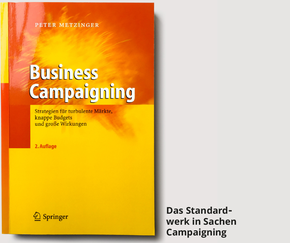 Das Buch business campaigning